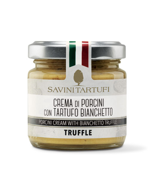 <table class='brwsr2'><tbody><tr><th>Product name</th>   <td class='data fst'>PORCINI MUSHROOMS AND TRUFFLE CREAM</td></tr><tr><th>capacity</th>     <td class='data fst'>90g</td></tr><tr>       <th>Price</th>       <td class='data fst'>¥3,050</td></tr></tbody></table>