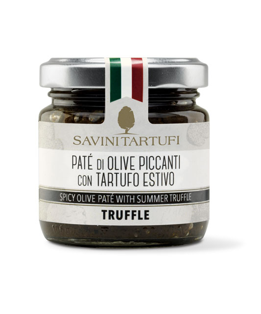 <table class='brwsr2'><tbody><tr><th>Product name</th>   <td class='data fst'>SUMMER TRUFFLE-FLAVOURED SPICY OLIVES PATE</td></tr><tr><th>capacity</th>     <td class='data fst'>90g</td></tr><tr>       <th>Price</th>       <td class='data fst'>¥1,450</td></tr></tbody></table>