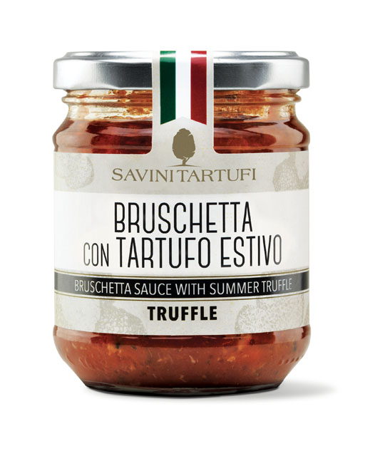 <table class='brwsr2'><tbody><tr><th>Product name</th>   <td class='data fst'>BRUSCHETTA SAUCE WITH SUMMER TRUFFLE</td></tr><tr><th>capacity</th>     <td class='data fst'>180g</td></tr><tr>       <th>Price</th>       <td class='data fst'>¥2,200</td></tr></tbody></table>