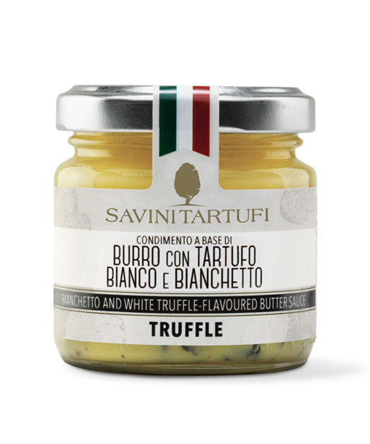 <table class='brwsr2'><tbody><tr><th>Product name</th>   <td class='data fst'>BIANCHETTO TRUFFLE-FLAVOURED BUTTER SAUCE</td></tr><tr><th>capacity</th>     <td class='data fst'>80g</td></tr><tr>       <th>Price</th>       <td class='data fst'>¥3,400</td></tr></tbody></table>